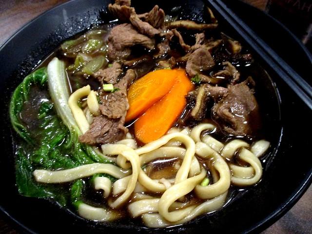 Mr Cow beef noodles