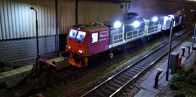 Dudley Road Depot at Night.