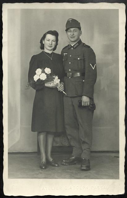 ArchivV34 Grüße von der Vermählung, 17. März 1942