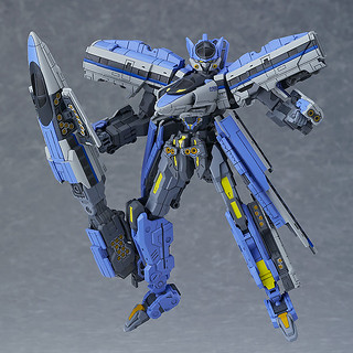 MODEROID《新幹線變形機器人》Shinkalion 500回聲號(500こだま)組裝模型