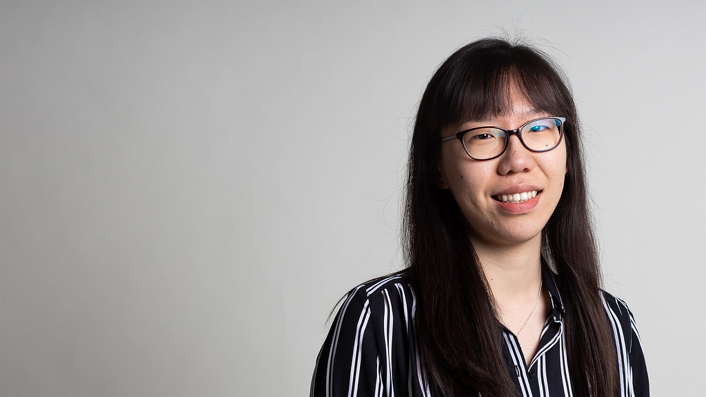 Portrait of Accounting and Finance graduate Joanna Chen
