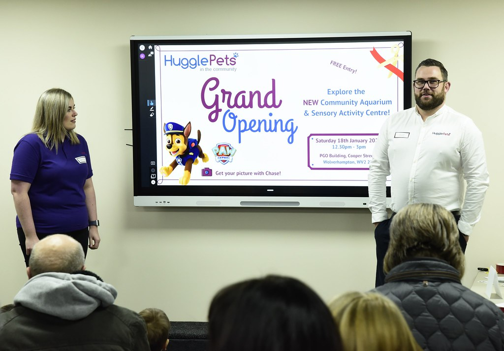 HugglePets in the Community - Grand Opening - 18.01.2020
