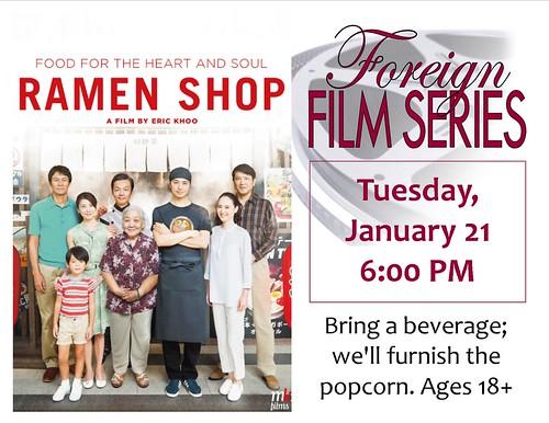 Foreign Film Series: Ramen Shop