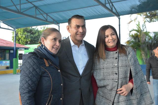 Honores a la Bandera en la Escuela Primaria Jaime Torres Bodet