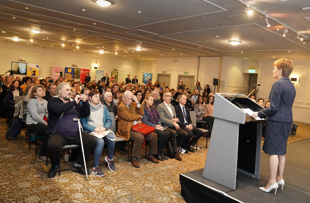 EU citizens vital to Scotland by Scottish Government   Via Flickr:  EU citizens living and working in Scotland make an...