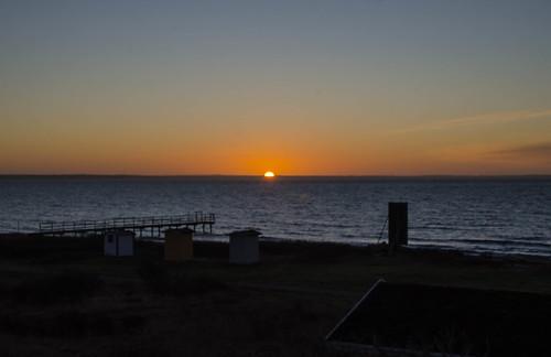 sunset viken sweden