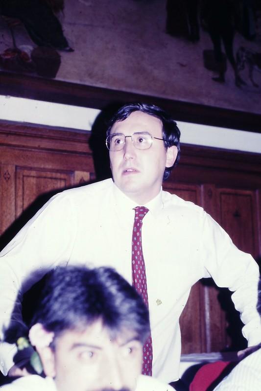 Cena del Congreso Mundial Vasco de Educación de 1986