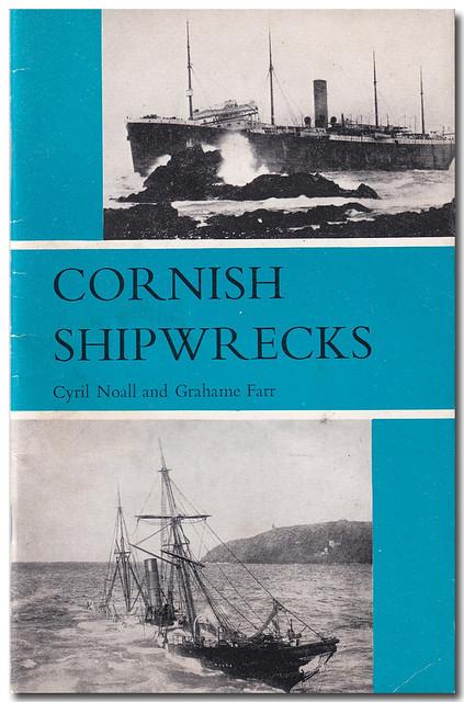 Book Cover: Cornish Shipwrecks