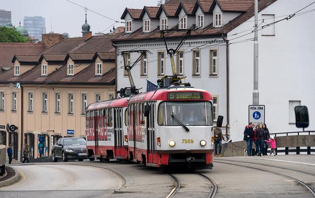 Bratislava tramway: Tatra T3G # 7839
