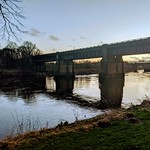 Scene down by the river at Preston