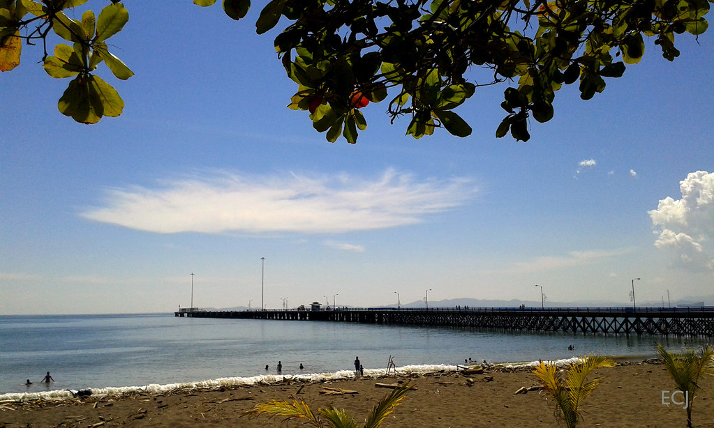 Otra vista del muelle de Puntarenas/ Another view of Puntarenas' pier