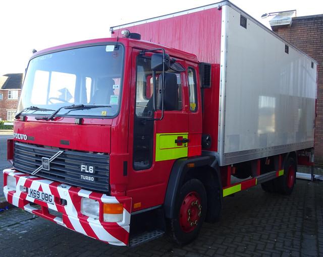 North wales fire and rescue volvo FL6 K69 OBG