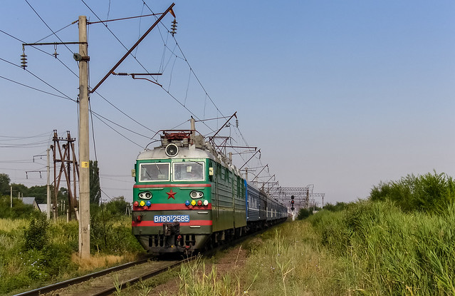 Kazakhstan Railways: VL80S-2585