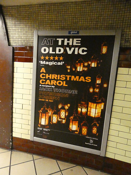 a christmas carol at the Old Vic