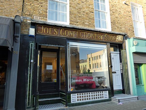 Joe's confectionaries shop