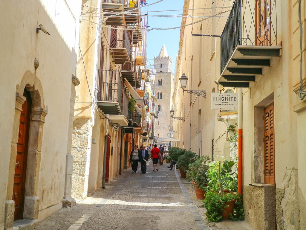 Calles empedradas de Cefalu