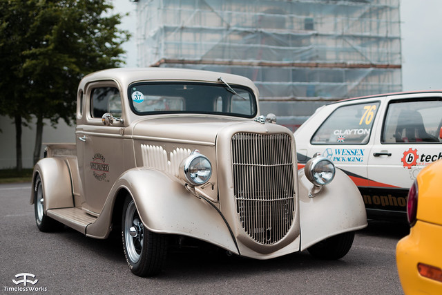 Ford Hotrod by Saunders Specialised Services Ltd.