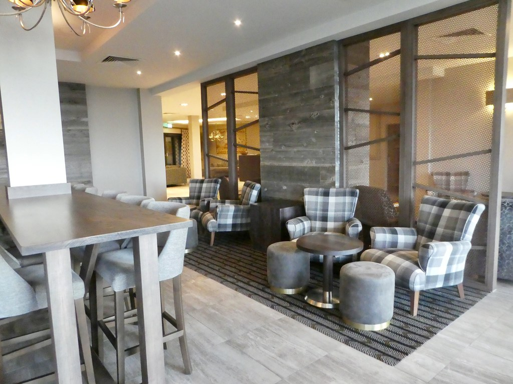 Lounge, Boulevard Hotel, Blackpool