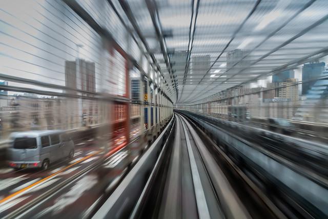 Odaiba monorail, Tokyo (view full-screen)