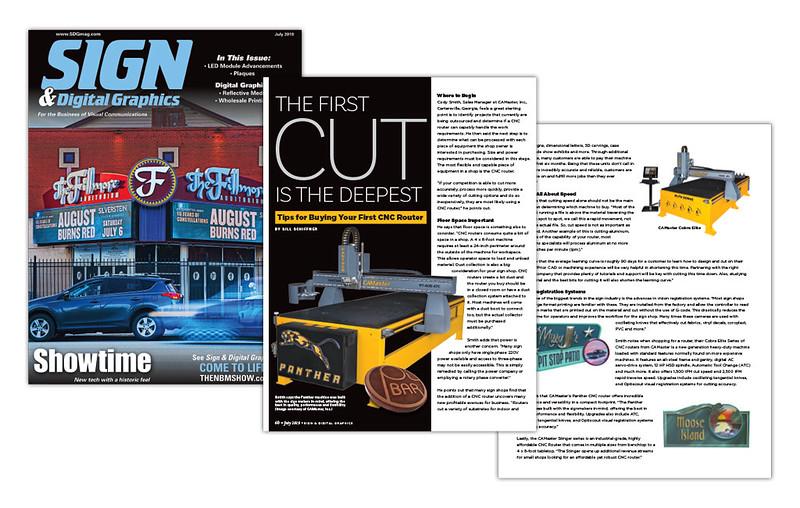 CAMaster Magazine Article