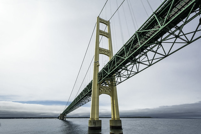 Michigans Iconic Mackinac Bridge