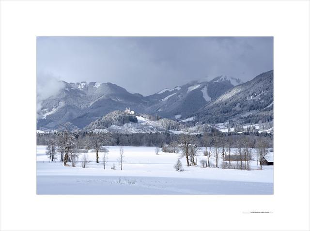 Luz de invierno sobre el valle