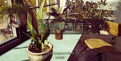 crate's Green Gardener Set @ Belle!