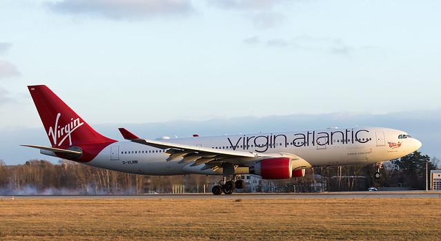 Virgin Atlantic Airbus A330-223