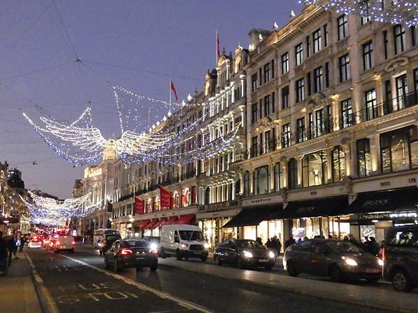 nuit sur Regent street