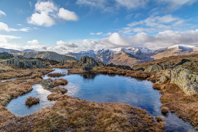 Unnamed tarn on Satura Crag