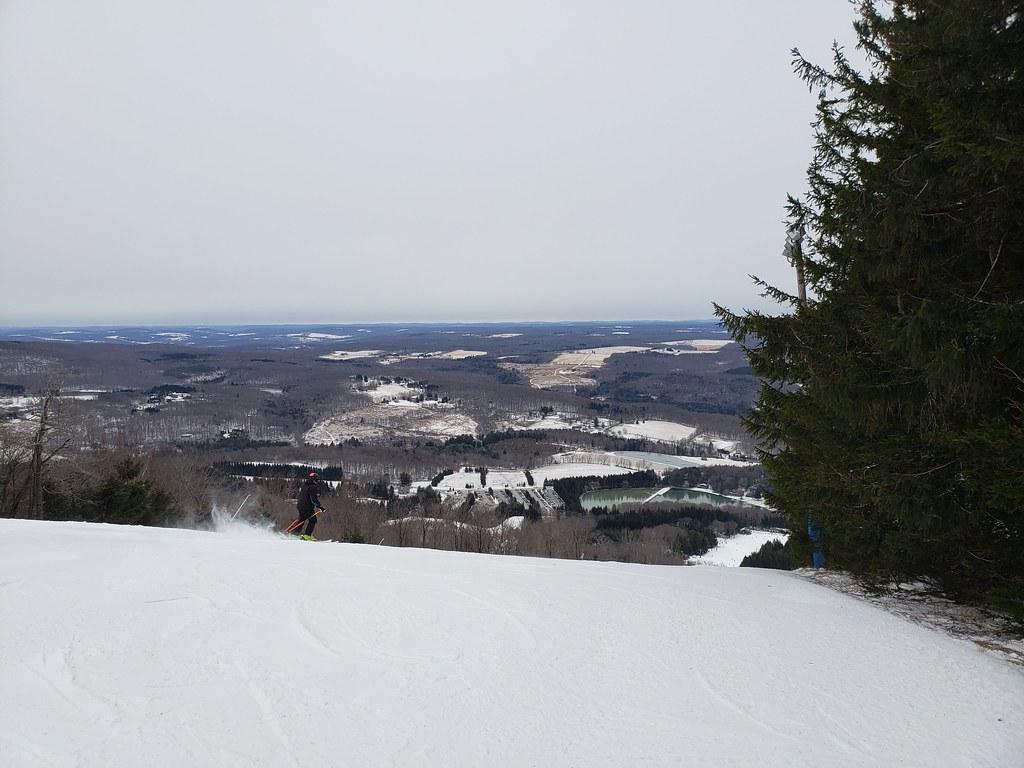 Elk Mountain ski trip