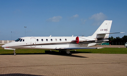 Cessna 680 Citation Sovereign LN-SSS | by Simon Brooke 1954