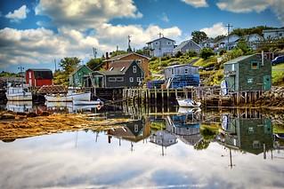 Fishing Village. Halifax, Canada