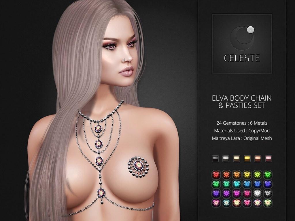 Celeste – Elva Body Chains Set
