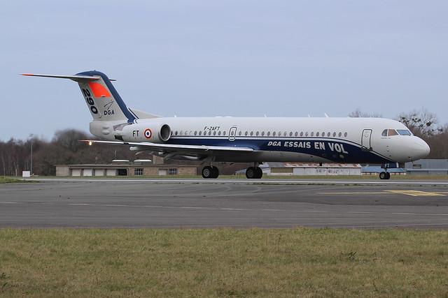 Fokker 100 Centre d'Essais en Vol (CEV) 290 / F-ZAFT