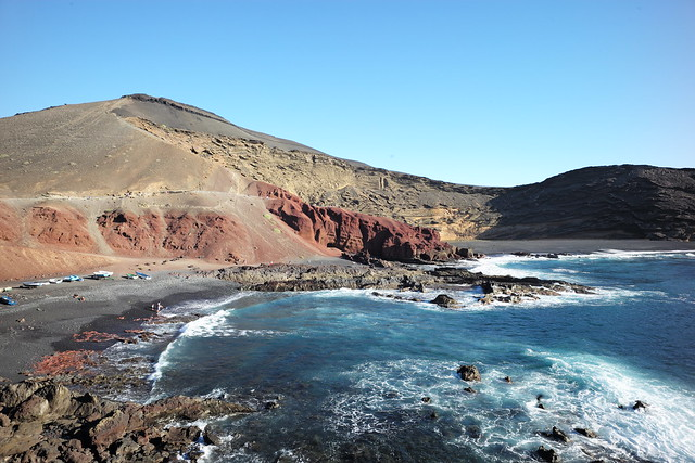 Playa de Papagayo, Lanzarote, Islas Canarias, Spain, January 2020 103