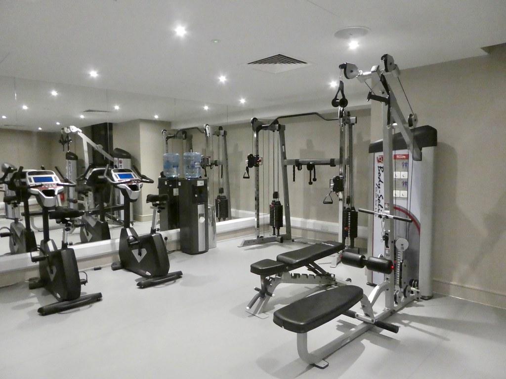 Gym, Boulevard Hotel Blackpool