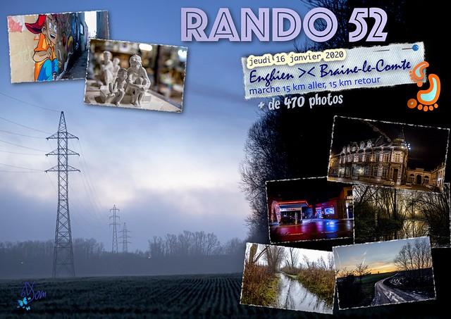 2020 - 52ème randonnée - jeudi 16 janvier