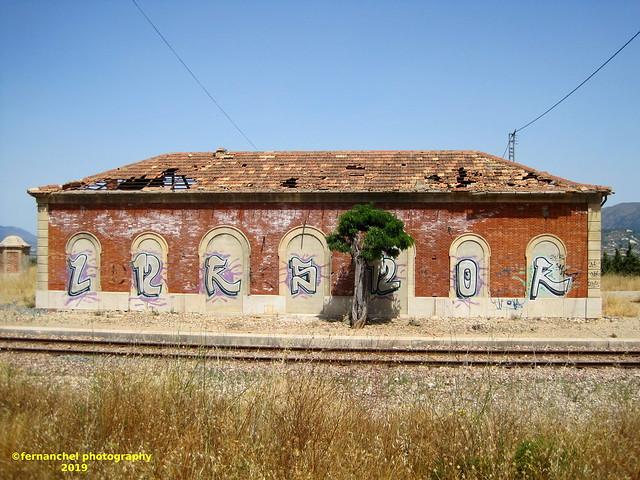 Antigua Estación de Ferrocarril de COCENTAINA (Alicante)