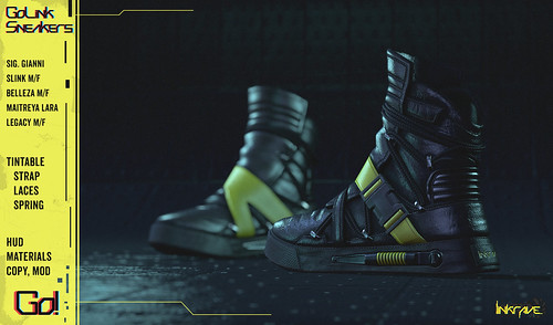 GoLink Sneakers - Out now!! - LINKRAVE