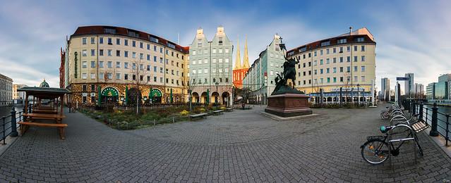Nikolaiviertel (Panorama Berlin)
