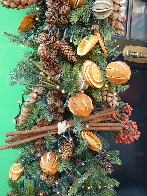branchages décorés