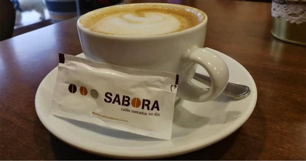 Café con leche - Cafés Sabora