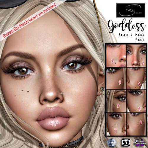 Stellar Goddess Beauty Mark Pack