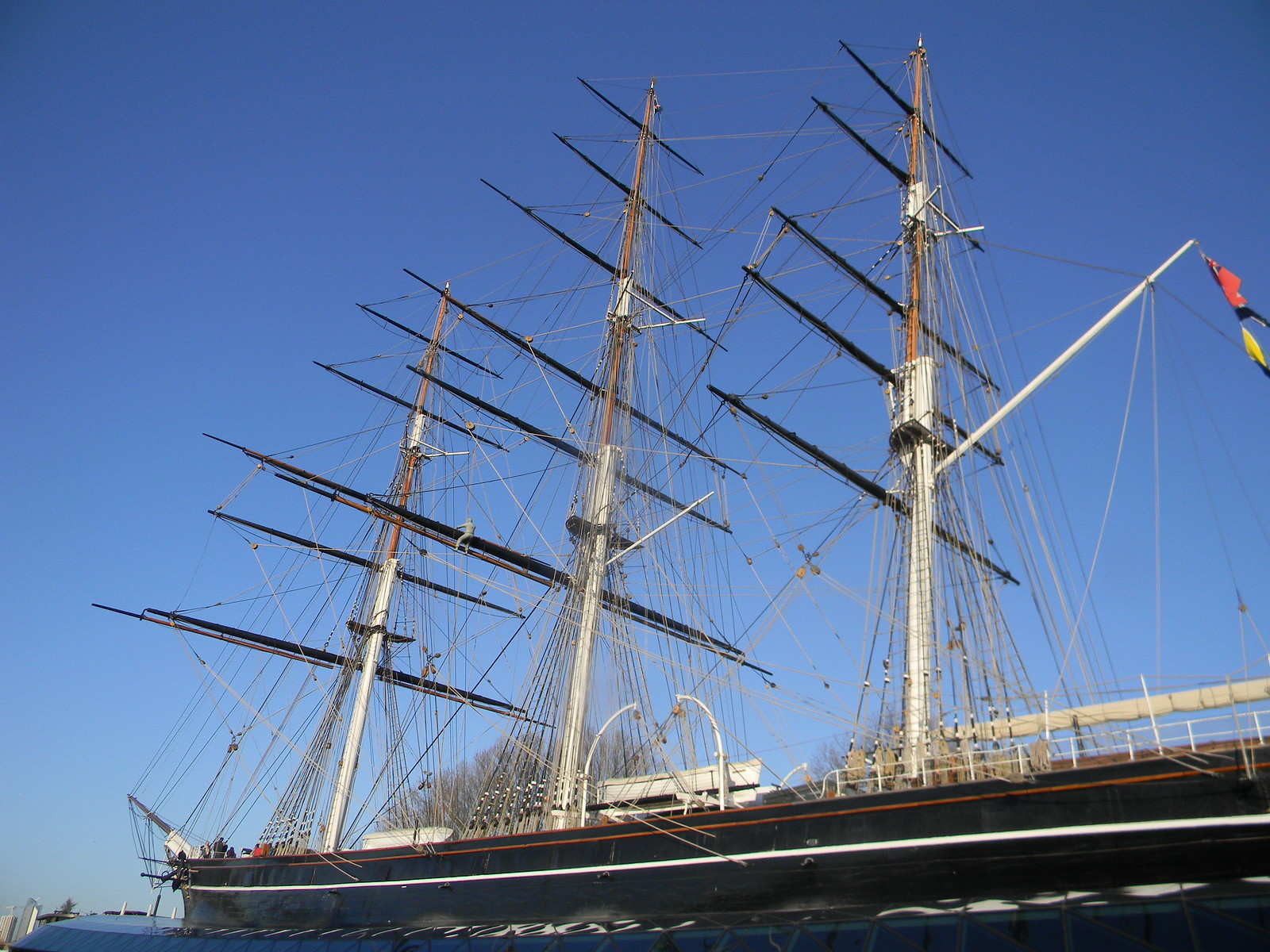 Cutty Sark Blackheath to Canary Wharf