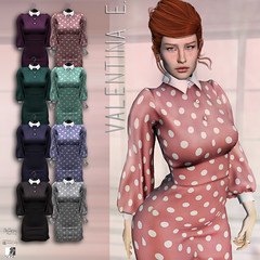 NEW! Valentina E. Dotty Dress @ BELLE!