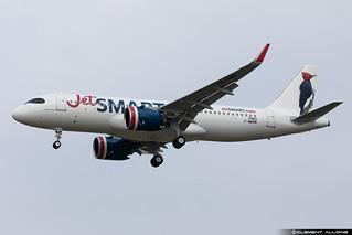 JetSMART Airbus A320-271N cn 9463 F-WWBM // CC-AWN