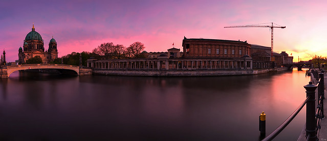 Museumsinsel sunset (Berlin Panorama)