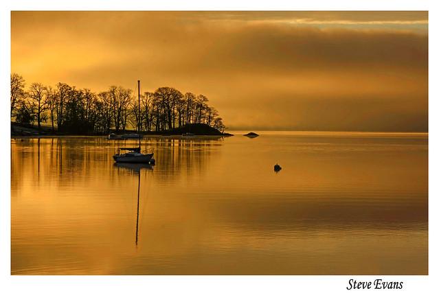 Sunrise on Windermere
