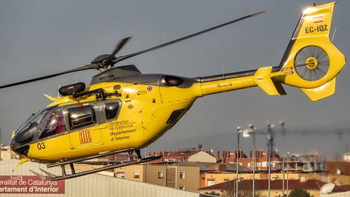 Eurocopter EC135 EC-IQZ